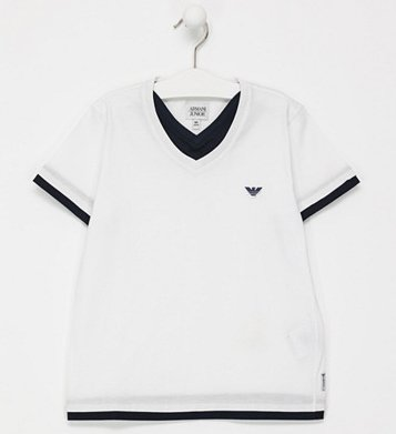 Armani Junior Sale mit bis -65% Rabatt - z.B. Polo Shirts ab 46€, Shirts ab 26€