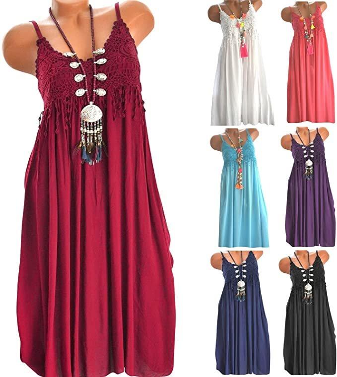 Koperras Damen Kleid in 6 Farben für je 6,59€ inkl. Versand (statt 11€)