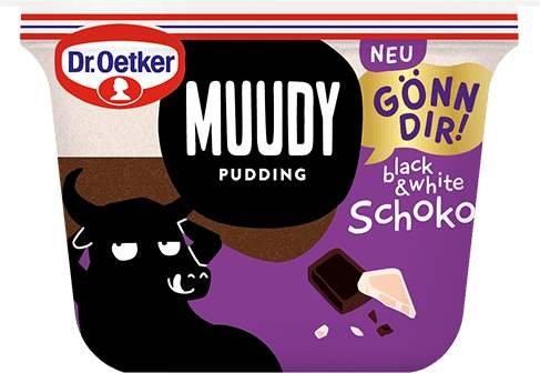 Dr.Oetker Muudy Pudding gratis testen dank Geld-zurück-Garantie (GzG)