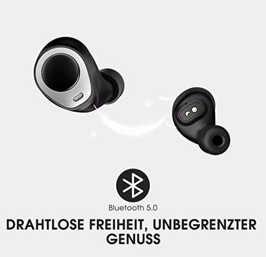 Bluetooth Kopfhörer in Ear von Mpow für 24,99€ inkl. Versand (statt 40€)