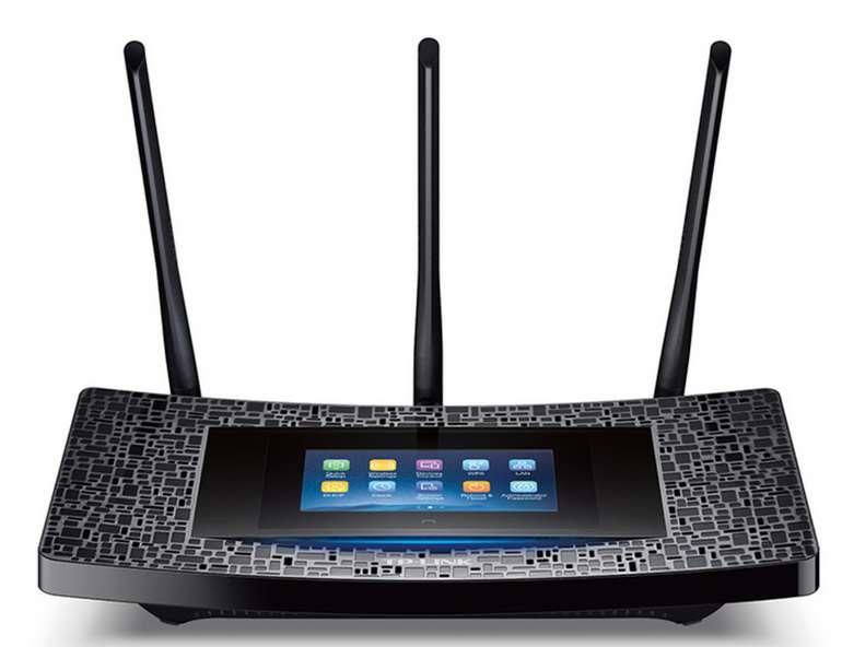 TP-Link AC1900 Dualband-Gigabit-WLAN-Repeater mit Touchscreen (RE590T) für 49,95€ inkl. Versand (statt 129€)