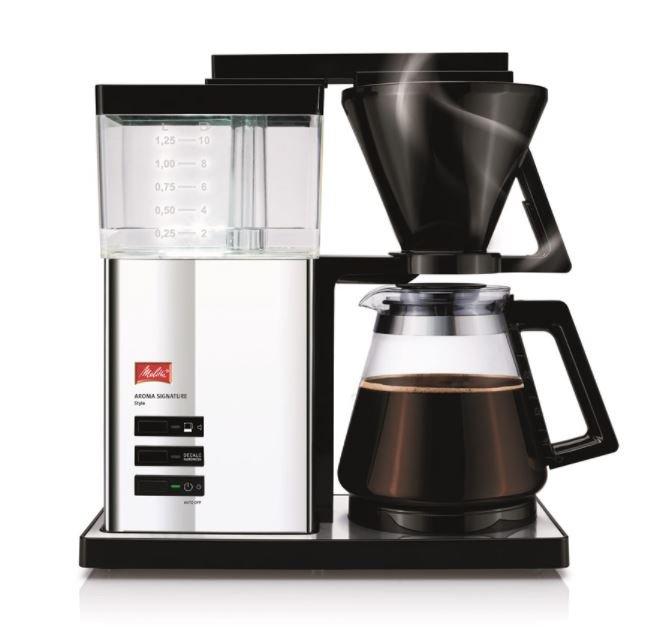 Melitta Aroma Signature DeLuxe Style Kaffeemaschine für 99,00€ inkl. Versand (statt 129€)