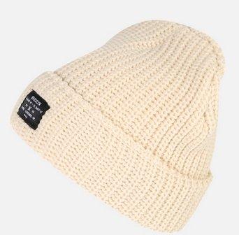 New Look - Herren Mütze 'Chunky Knit' in beige für 9,52€ inkl. VSK