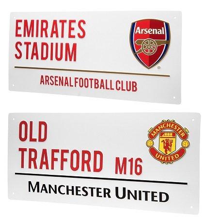 Premier League Metall-Straßenschilder für je nur 7,28€ inkl. Versand