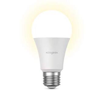 Koogeek LB2EU - Smarte E27 LED-Birne (Alexa, Google & Apple HomeKit komp.) 24€