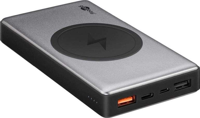 Goobay Wireless Quick Charge 3.0 Powerbank 10.0 (10.000 mAh) für 18,96€ inkl. Versand (statt 26€)