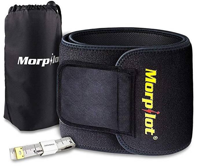 Morpilot Fitness Gürtel mit Maßband & Säckchen für 9,99€ inkl. Prime Versand
