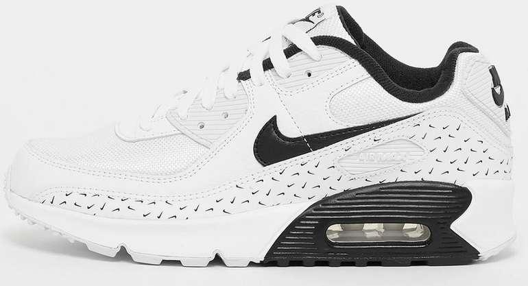 Nike Air Max 90 (GS) Kinder Sneaker im schwarz-weißem Design für 59,99€ inkl. Versand (statt 85€)