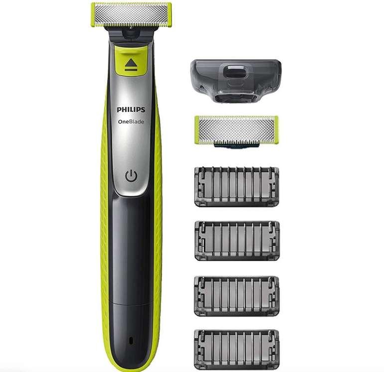 Philips OneBlade Face QP2530/20 mit 4 Trimmeraufsätzen für 25,99€ (statt 36€)