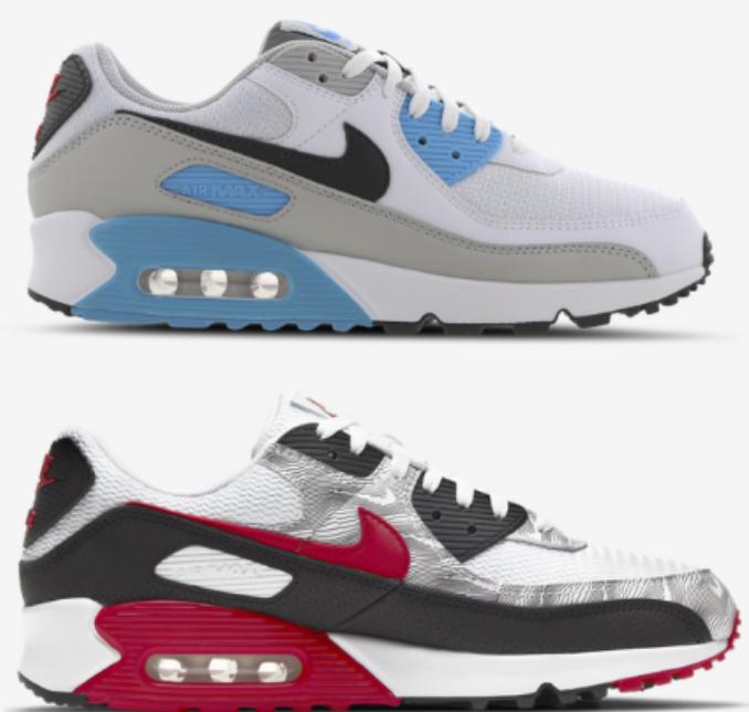 Nike Air Max 90 Essential Herren Schuhe (vers. Designs) zu je 99,99€ inkl. Versand (statt 140€)