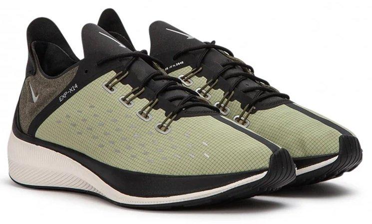 Nike EXP-X14 SE in Olive für 53,88€ inkl. Versand (statt 75€)