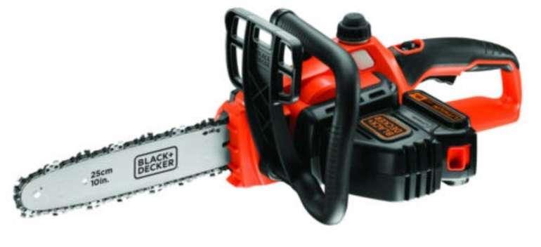 Black & Decker GKC1825L20 Akku-Kettensäge mit 2,0 Ah für 92,85€ inkl. Versand (statt 105€)