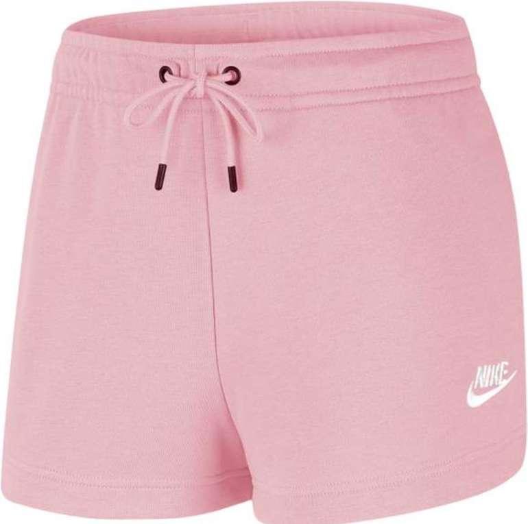 Nike Sportswear Essential Womens French Terry Short Damen Sweatshorts für 19,74€ (statt 23€)