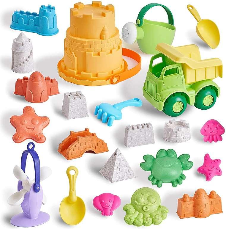 T.G.Y Sandspielzeug Set (23 Stück) für 14,94€ inkl. Prime Versand
