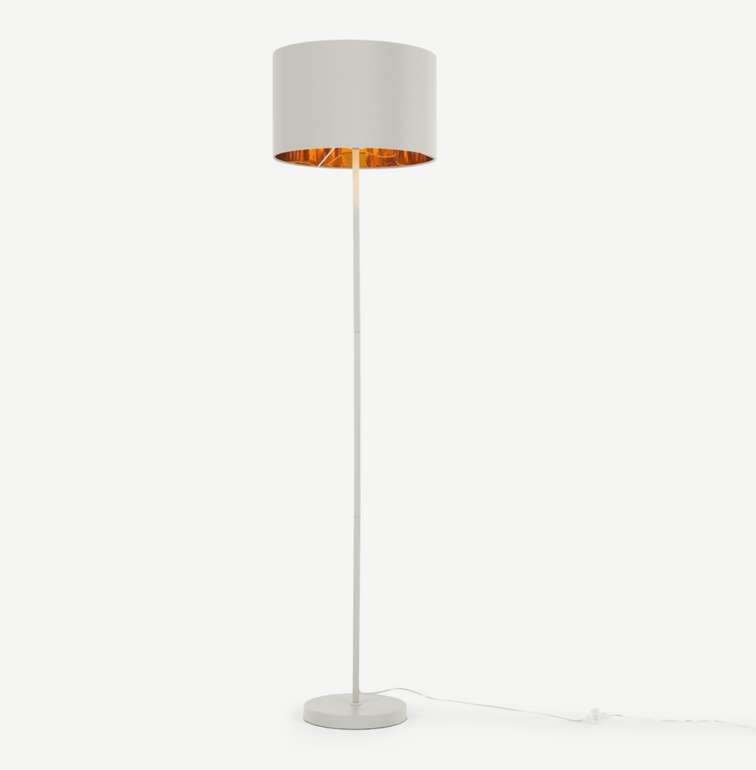 Made Jacy Stehlampe in Grau/Kupfer für 40,50€ inkl. Versand (statt 64€)