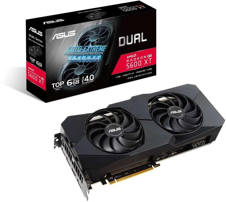 ASUS Radeon RX 5600 XT DUAL-RX5600XT-T6G-EVO Grafikkarte für 314,64€ inkl. Versand