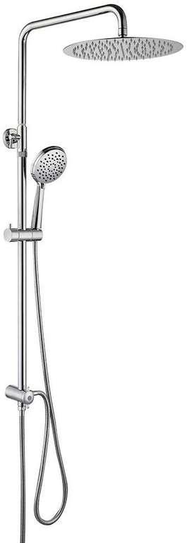 Homelody Duschsystem mit Überkopfbrause + Handbrause mit 3 Modi für 72,99€ (statt 116€)