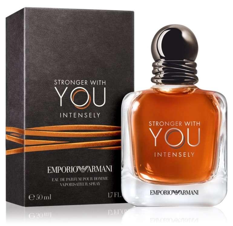 Emporio Armani Stronger With You Intensly Eau de Parfum 50ml für 36,81€ inkl. Versand (statt 40,49€)