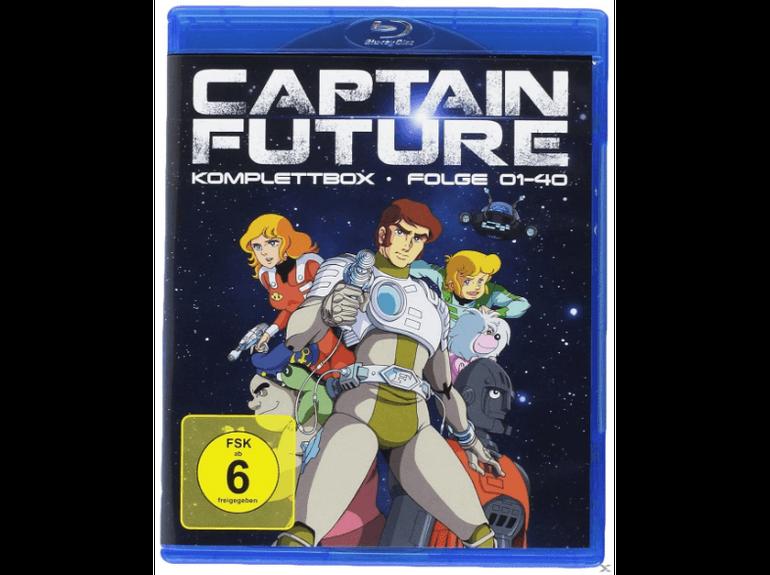 Saturn Saisonstart: z.B. Captain Future Komplettbox (Blu-Ray) für 50€ statt 71€