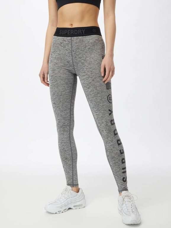 Superdry elastische Damen Trainings-Leggings für 19,95€ inkl. Versand (statt 43€)