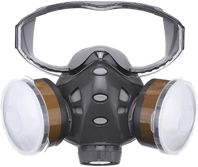 Nasum Atemschutzmaske mit Schutzbrille für 18,89€ inkl. Prime Versand (statt 27€)