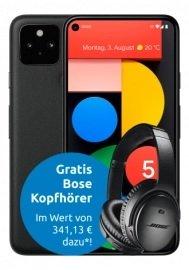 Top! Google Pixel 5 (199€) + Bose QC 35 II Kopfhörer + Congstar Allnet Flat M Aktion (8GB) für 19,50€ mtl.