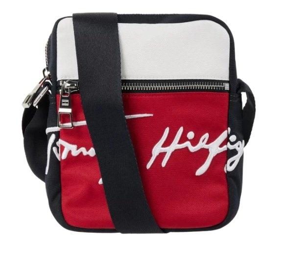 Tommy Hilfiger Signature Mini Reporte - Umhängetasche mit Logo-Stickerei für 25€ (statt 37€)