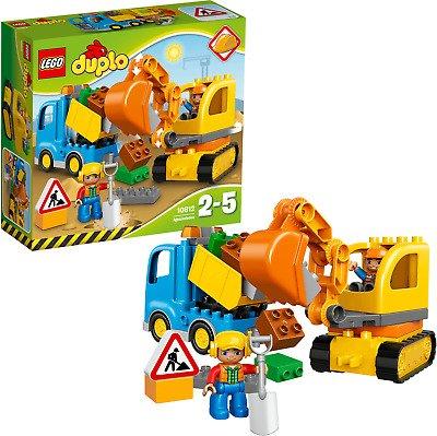 Lego Duplo - Bagger & Lastwagen (10812) für 9,29€ (statt 15€)