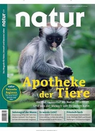 """Jahresabo """"Natur"""" für 72,35€ + 70€ Amazon-Gutschein als Prämie!"""