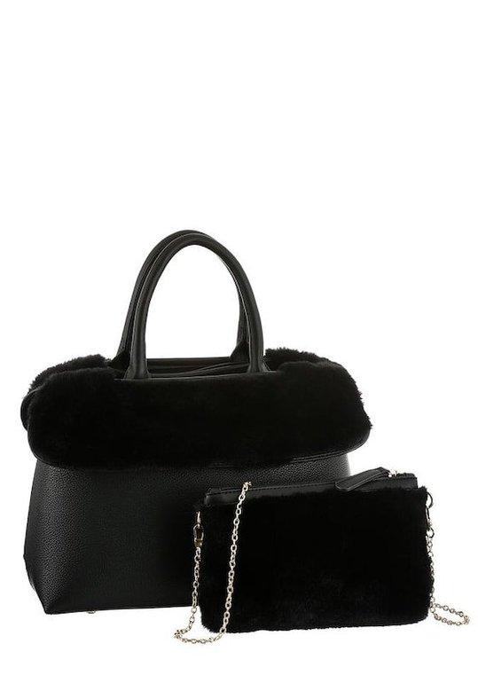 Buffalo Henkeltasche in schwarz für 25,49€ inkl. Versand (statt 50€)