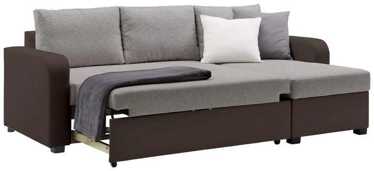 Modern Living Wohnlandschaft mit Bettfunktion für 419,30€ inkl. Versand (statt 599€)