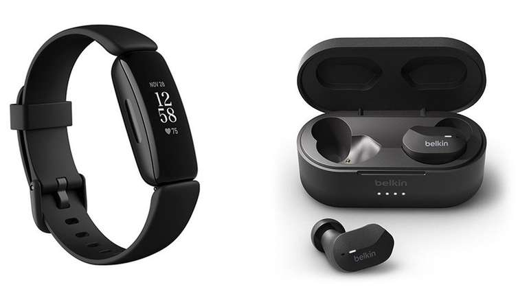 Fitbit Inspire 2 + Belkin Soundform True Wireless Earbuds für 99,95€ (statt 129€)