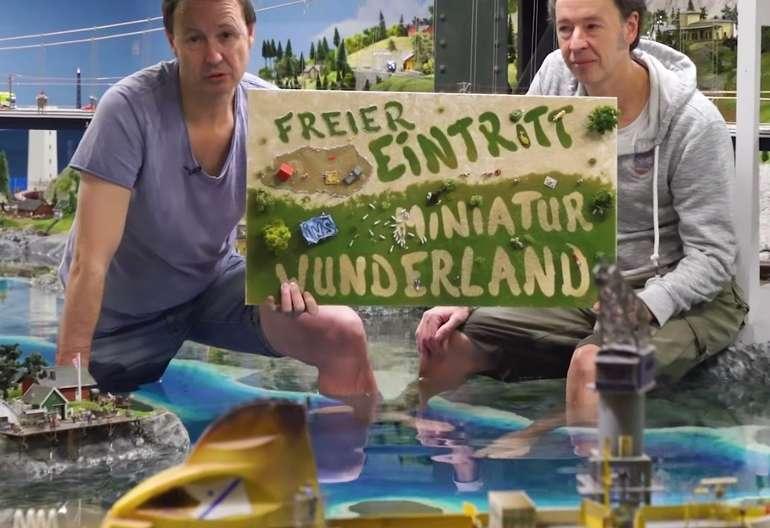 Freier Eintritt ins Miniatur Wunderland für die, die es sich nicht leisten können!