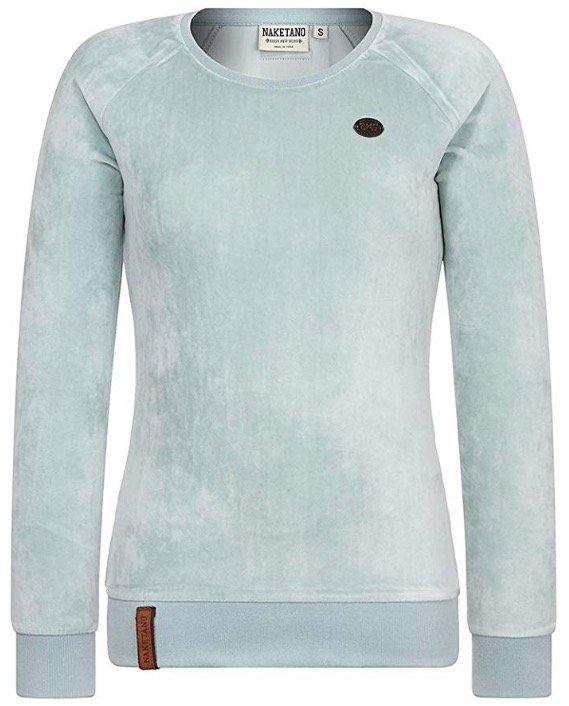 Naketano Sweatshirt 'Mackin da Hoes' in pastellblau für 20,94€ (statt 35€)