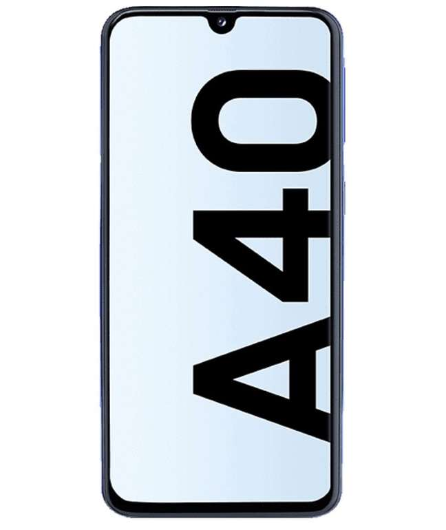 "Samsung Galaxy A40 5,9"" Smartphone (64GB, 4GB RAM, Dual SIM) für 169€ inkl. Versand (statt 190€)"