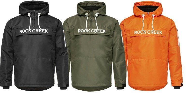 Rock Creek H-167 Herren Windbreaker Übergangsjacke