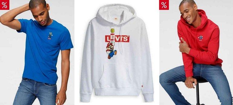 Otto 20% Rabatt auf Nintendo x Levi's Mario Bekleidung 2