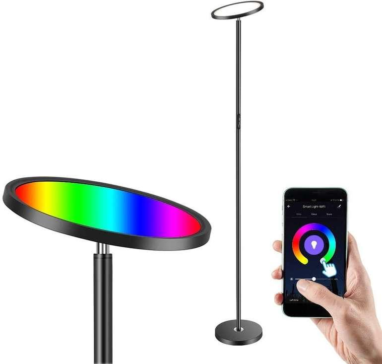 Anten LED RGB Deckenfluter (App, Alexa/Google Assistant kompatibel) für 41,99€ (statt 70€)