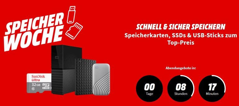 Media Markt Speicherwoche