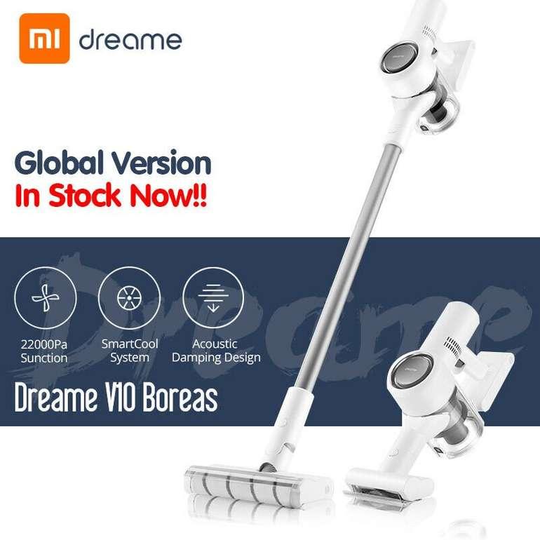 Xiaomi Dreame V10 Handstaubsauger (450W, 22kPa, EU-Version) für 209,99€ inkl. Versand
