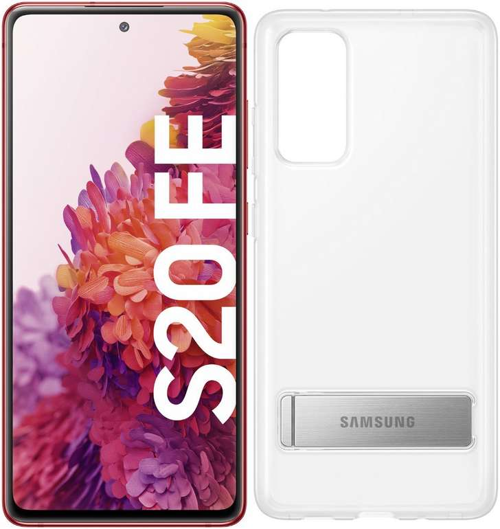 Preisfehler?! Samsung Galaxy S20 FE (128GB) inkl. Clear Standing Cover für 324,37€ inkl. Versand (statt 485€)