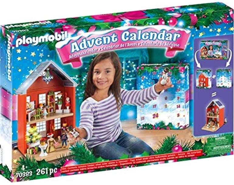 Playmobil 70383 - Adventskalender Weihnachten im Stadthaus XXL für 24,99€ inkl. Prime Versand (statt 43€)