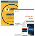 Microsoft Office 365 Home 6 Nutzer + Norton Security Deluxe 5 für 73€
