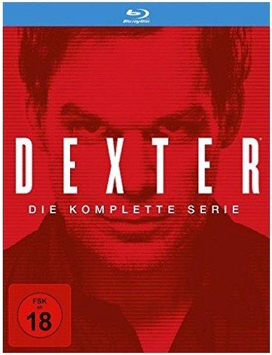 Dexter Blu-ray Komplettbox für 31,66€ inkl. Versand (Vergleich: 50€)