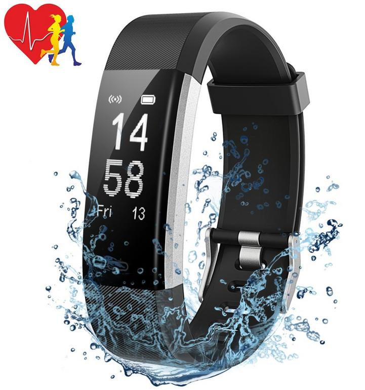 Mpow Fitness Tracker Armband mit Pulsmesser für 9,99€ inkl. Versand (Prime)