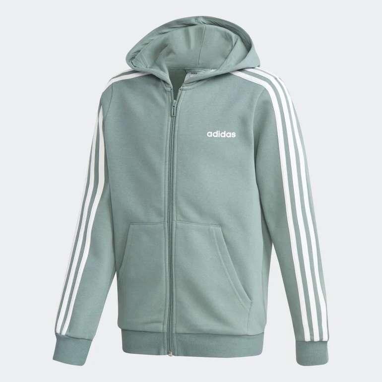 Adidas Essentials 3-Streifen Jungen Kapuzenjacke für 22,05€ inkl. Versand (statt 32€) - Creators Club