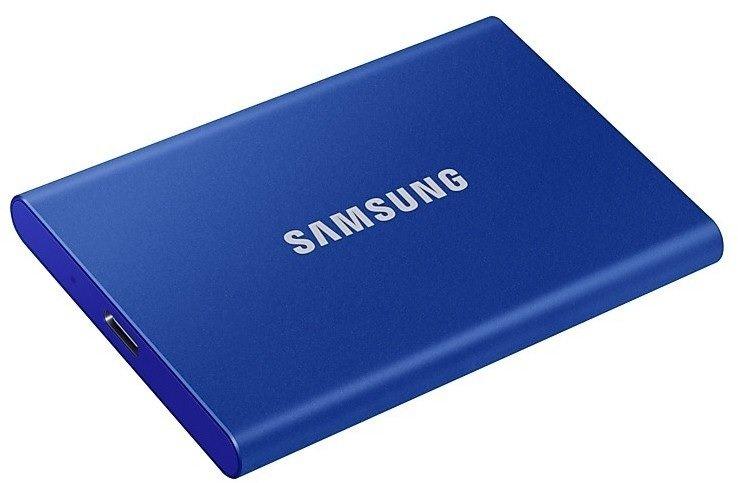 Samsung Portable SSD T7 mit 1TB in Blau (USB 3.2, Gen.2) für 114,99€ inkl. Versand (statt 134€)