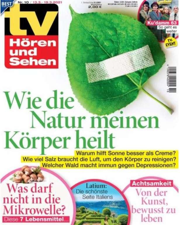 """Jahresabo """"TV Hören und Sehen"""" für 125€ + z.B. 115€ Bestchoice Gutschein"""