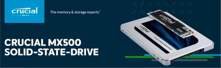Crucial MX500 SSD mit 2TB Speicher