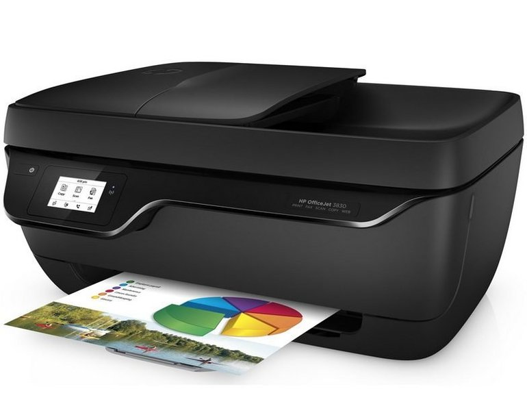 HP Officejet 3832 - Multifunktionsdrucker (A4, WiFi, USB, Air Print) für 39,95€